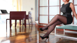 Sofia businesswoman and Companion with high class service in Louboutin high heels during work break